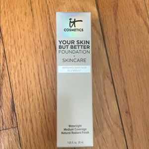 NWT It Cosmetics Your Skin But Better Foundation